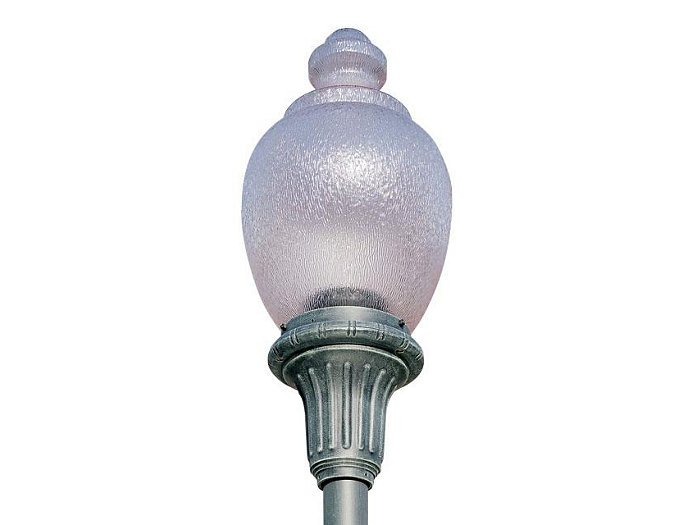 Hyde Park, 150W Clear HPS Lamp, Type V Glass Refractor
