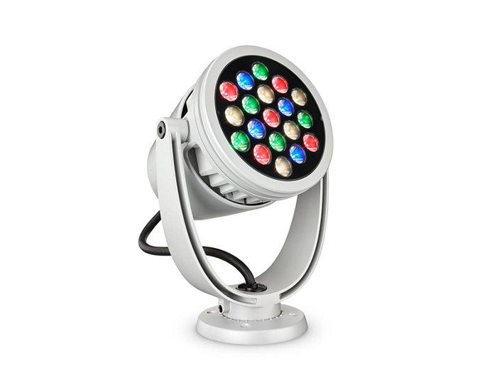 ColorBurst Powercore gen2, RGBW LED spotlight Architectural fixture