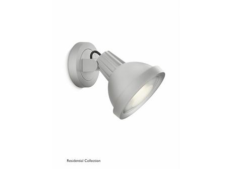 Rosebud gardenspot/floodlight grey 1x20
