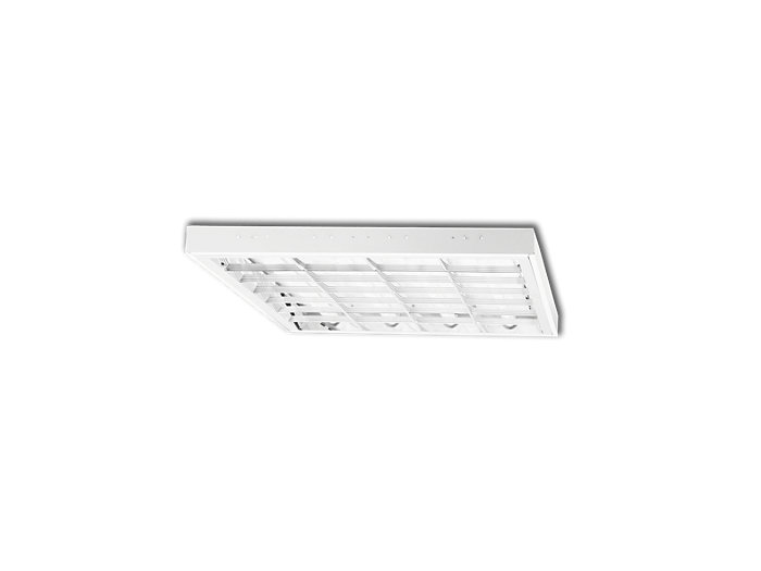 Office TBAR Recessed TBS195 4xT8LED