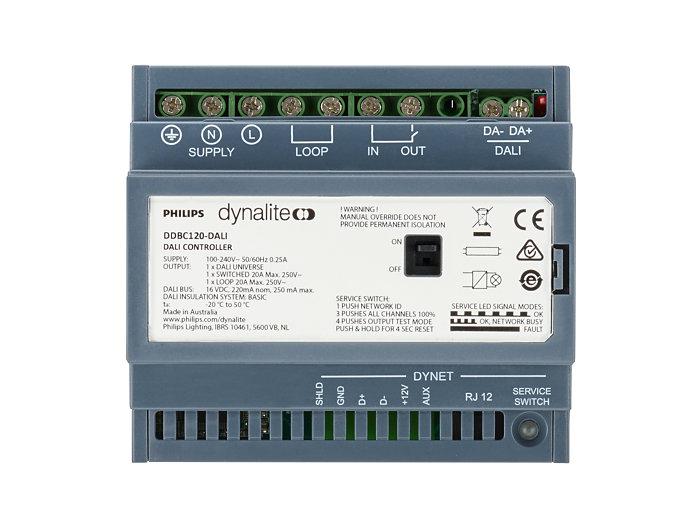 DDBC120-DALI MultiMaster DALI Driver Controller