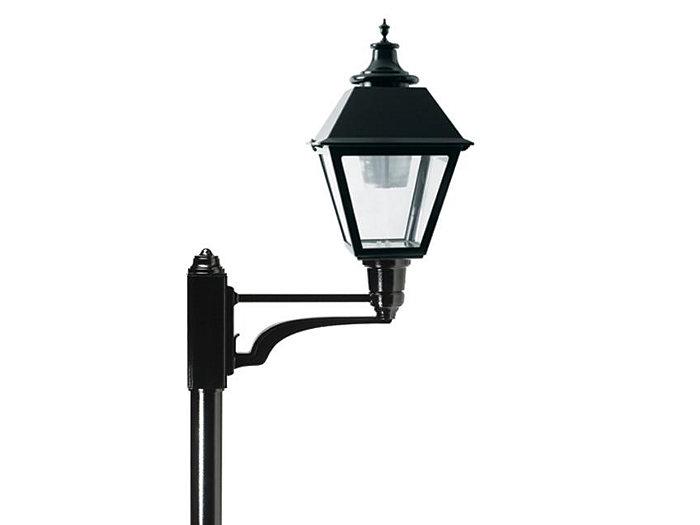 S40 Square Lantern LED 48 LED, Type V, 700mA, Clear Satin Globe 4000K