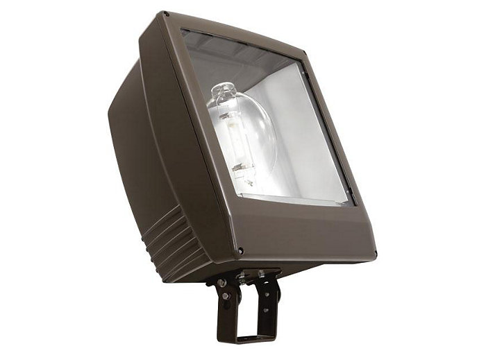PS, 1500W, 120-277V, Spot Optics, w/Lamp, Trunnion, Flood