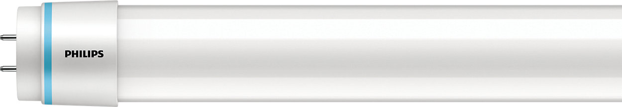 Simple T12 LED replacement for fluorescent tubes