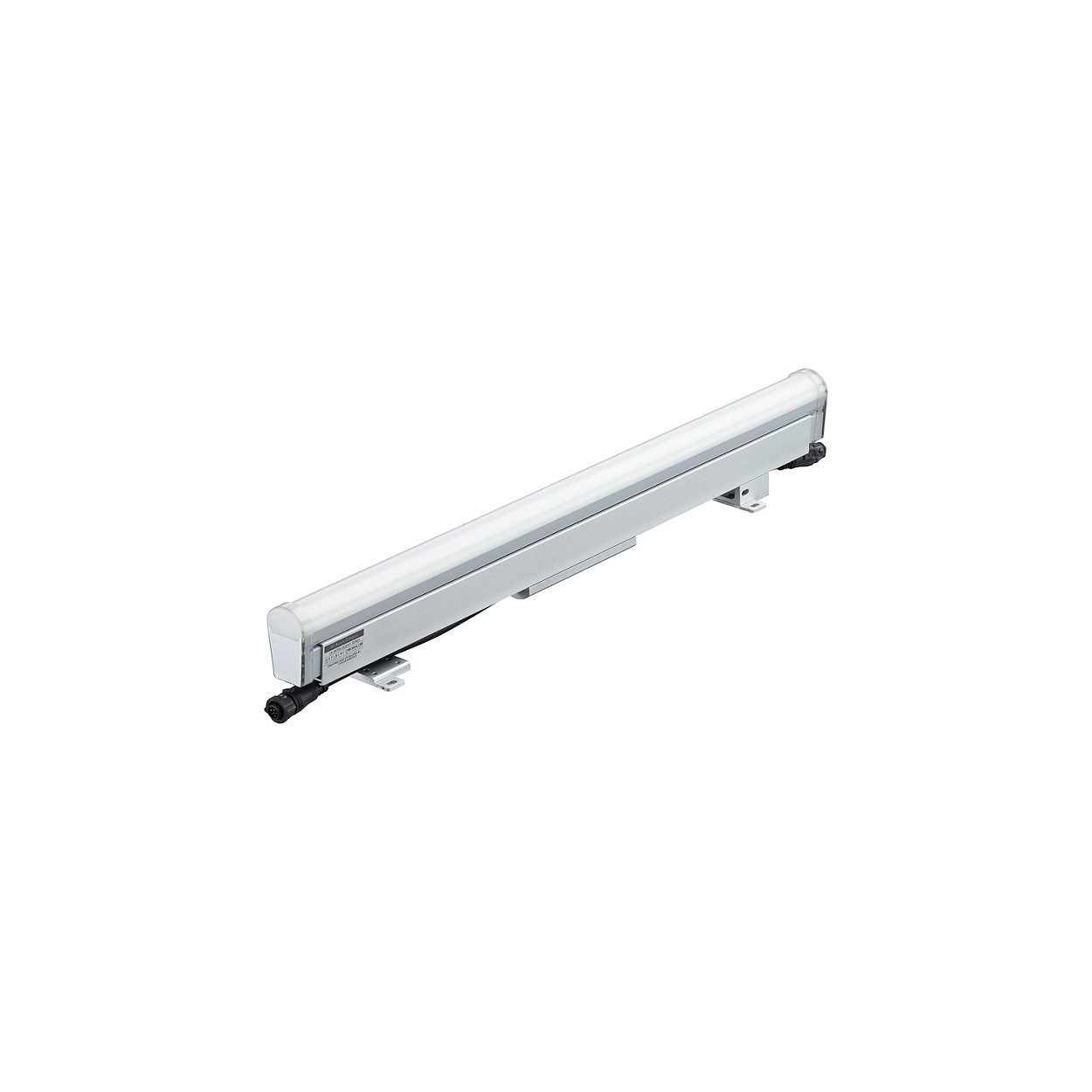 iW Accent Compact - High resolution media direct view linear LED luminaire with intelligent white light