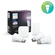 Hue White and colour ambience Starter Kit B22