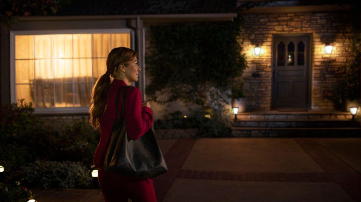 Heimkehr in ein mit Licht gefülltes Haus