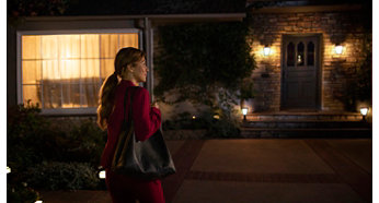Chegue a uma casa bem iluminada