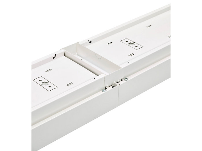 In-line mounting using connection pieces
