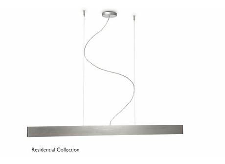Authentis pendant aluminium 1x28W 230V
