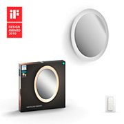Hue White ambiance Adore Bathroom lighted mirror