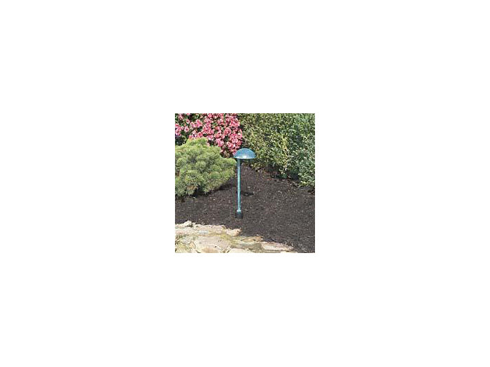 "Path Light, Aluminum, Advent w/ 12"" Stem, Bronze, 27W S-8 (1156), 12V"