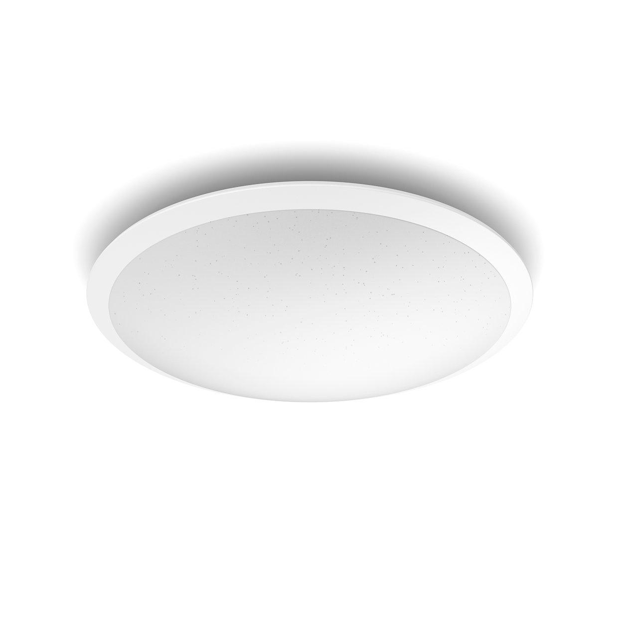 Una luminaria. El interruptor de siempre. Tres ajustes de iluminación.
