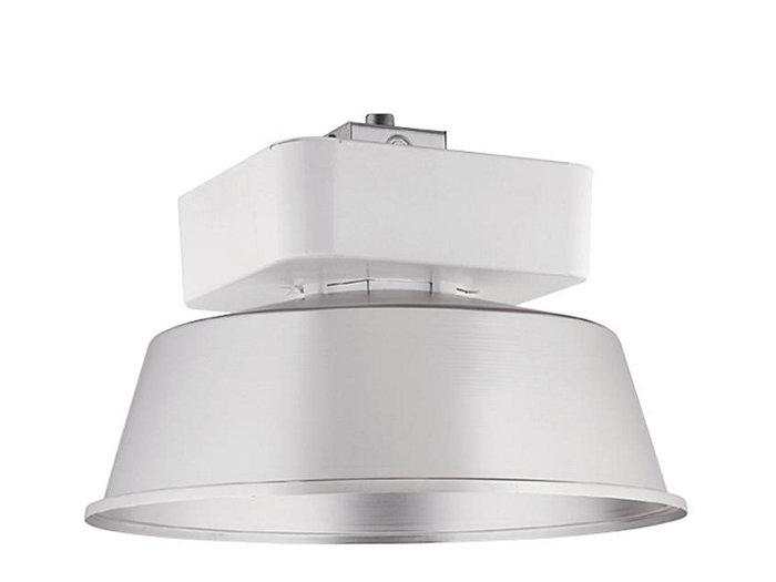 "24"" Open Aluminum Reflector w/Flat Tempered Glass Lens, 8 Lamp 42wCF"