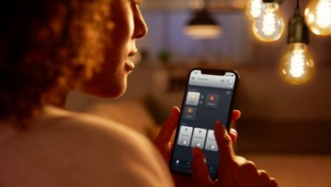 Styr opptil ti lyskilder med Bluetooth-appen