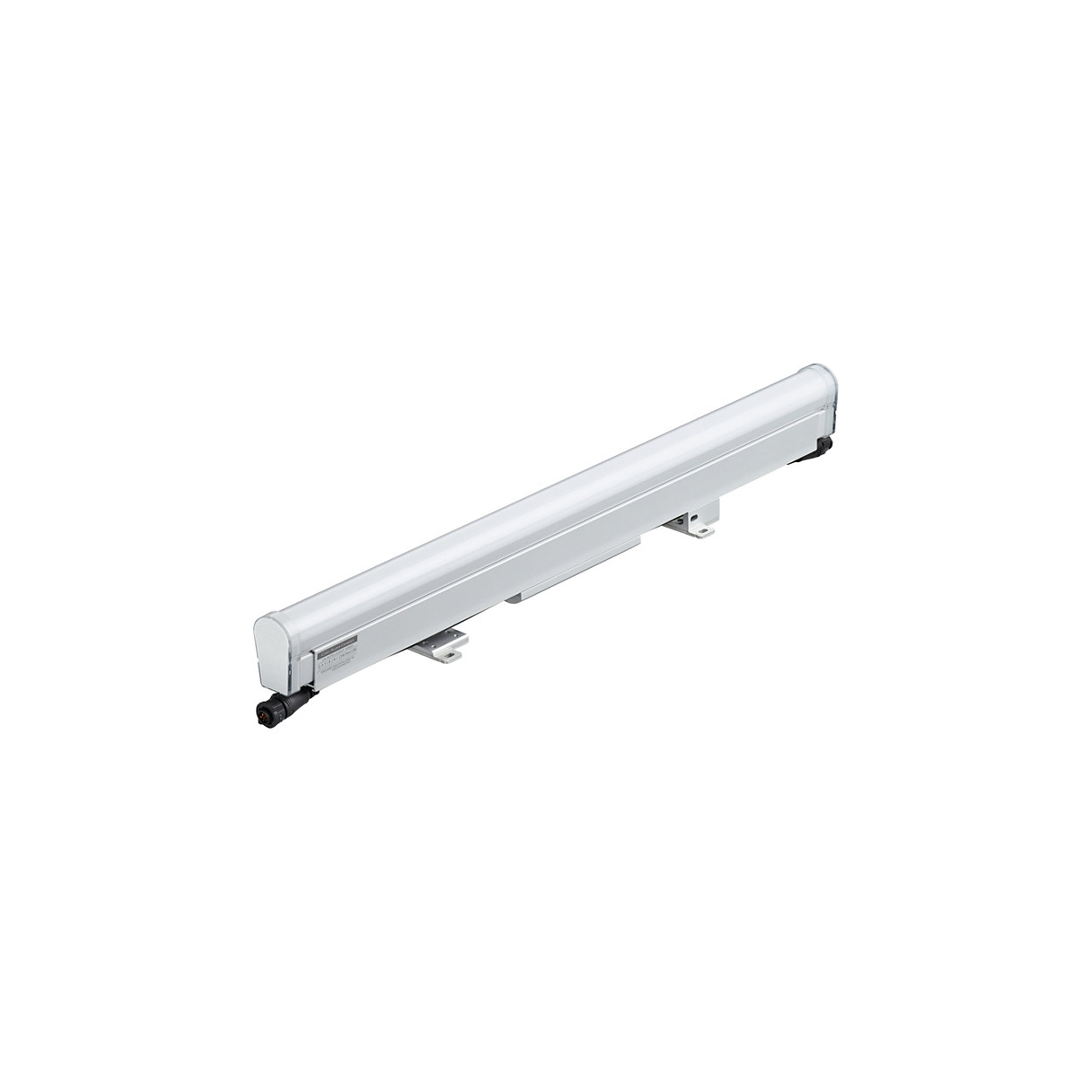 iColor Accent Compact - High resolution media direct view linear LED luminaire with RGBW color light