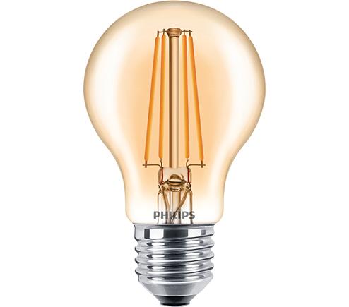 LED classic 48W A60 E27 FL GOLD D SRT4