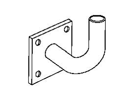 Pole Accessories - Side, Tenon and Reducer Brackets