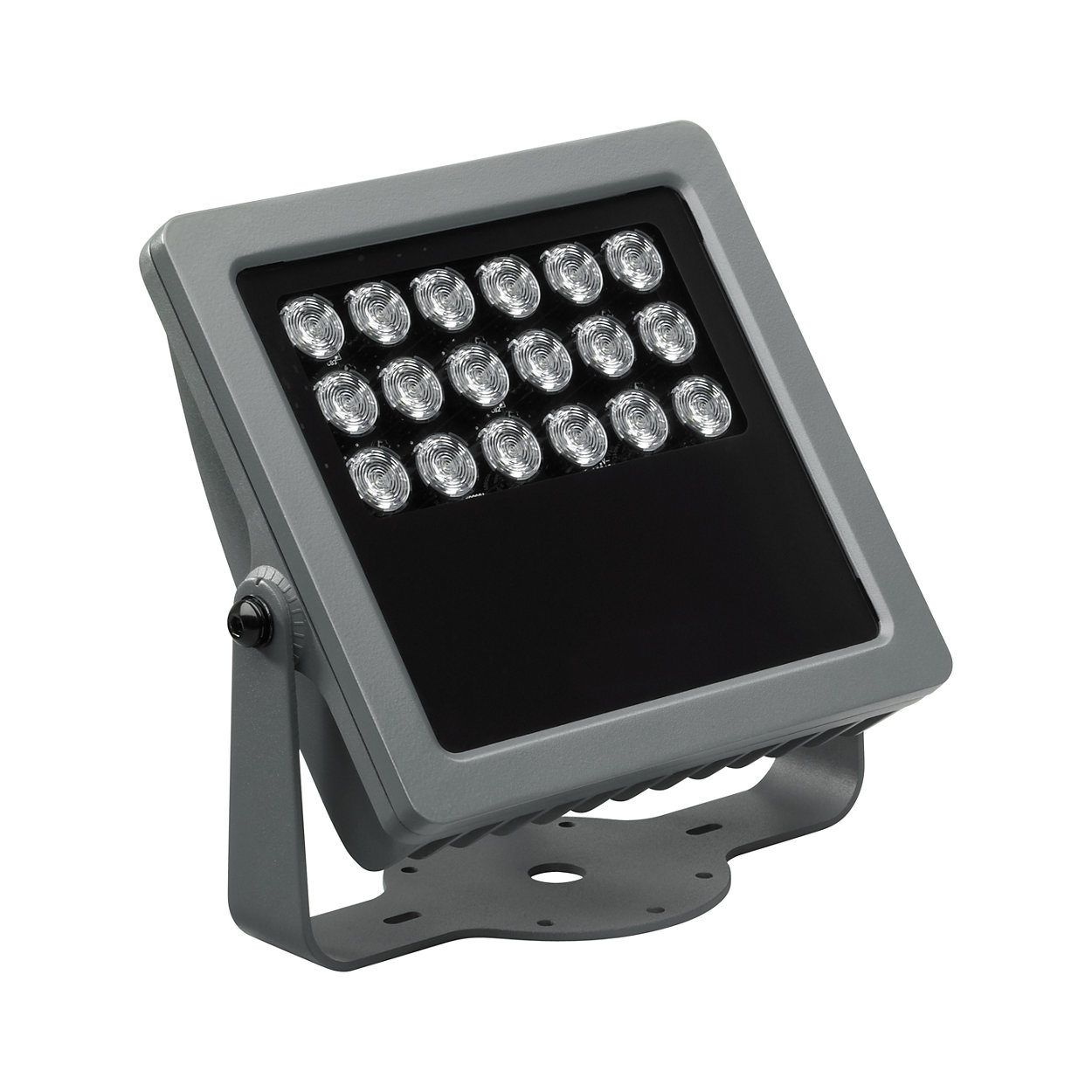 Vaya Flood LP – Low power architectural LED flood light for crisp white or dynamic color-changing lighting effects