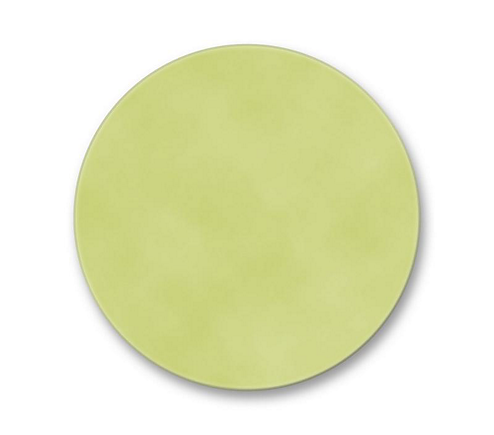 "4 3/4"" Dichroic Color Filter Yellow Green"