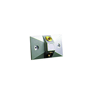 Mounting Plate for Remote Lamp Heads, See spec number CA-52050 for all mounting plates available.