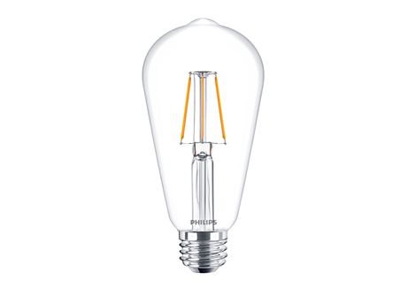 CLA LEDBulb ND 4-40W ST64 E27 827 CL