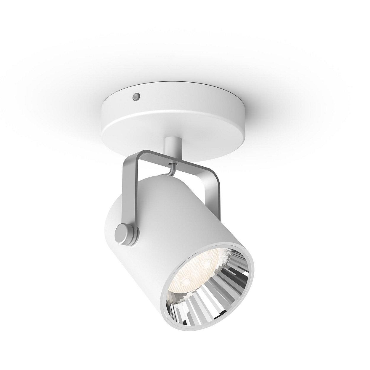 Una lámpara. El interruptor de siempre. Tres ajustes de luz.