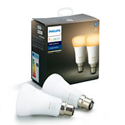 Hue White Ambience 2-pack B22