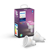 Hue White and colour ambience 2-pack GU10