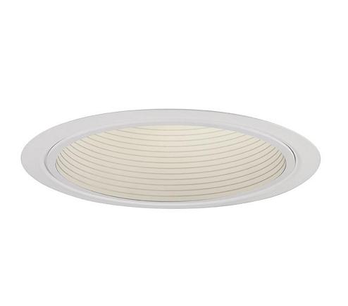BASIC WHITE BAFFLE REFLECTOR TRIM