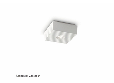 Row ceiling lamp white 1x6W SELV