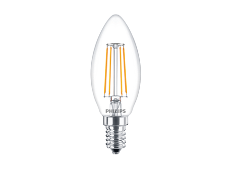 CLA LEDCandle ND 4-40W B35 E14 827 CL