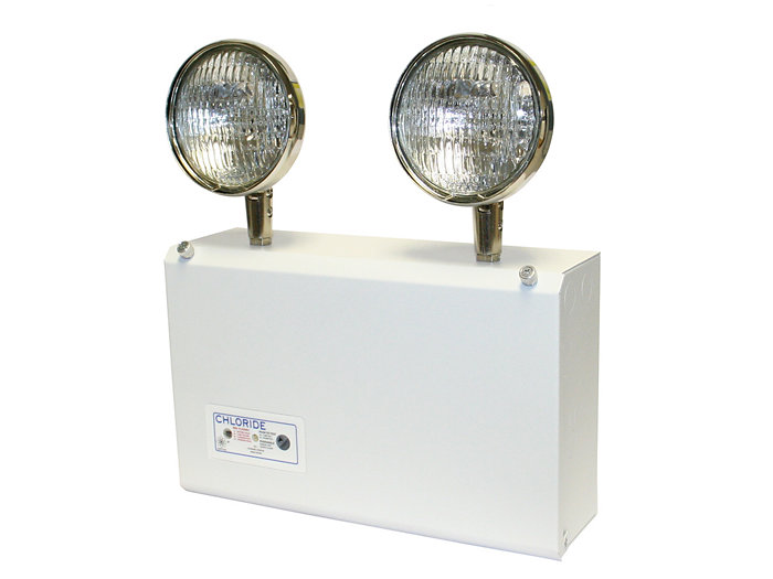 CMF Series - Die-formed Steel Emergency Unit, Nickel Cadium, 6V 75W, 12W Halogen Lamp