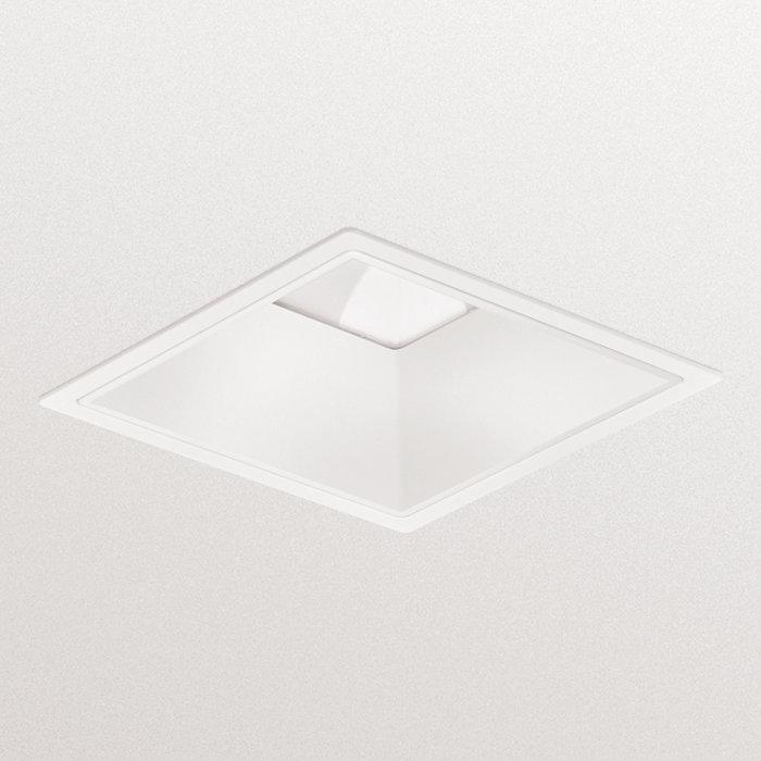 LuxSpace cuadrado, empotrado: alta eficacia, confort visual y un diseño elegante