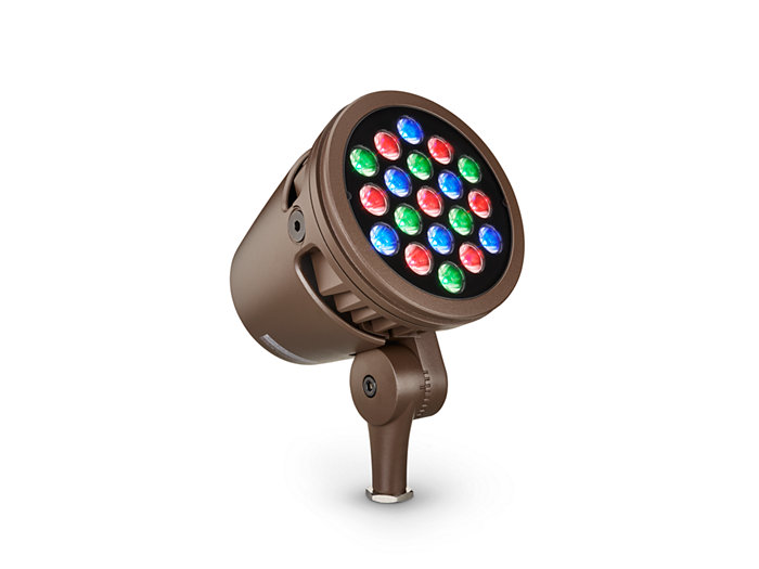 ColorBurst Powercore gen2, RGB LED spotlight Architectural fixture