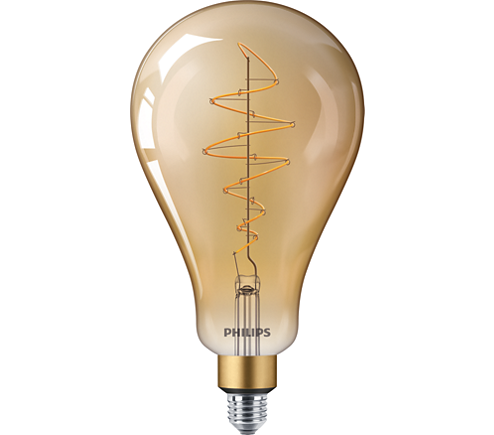 LED classic-giant 40W E27 A160 GOLD DIM