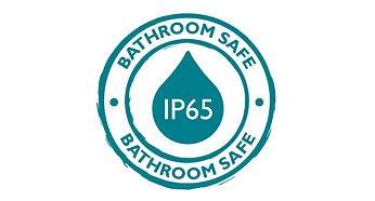 IP 65, dokonale vhodné pro osvětlení ve sprše