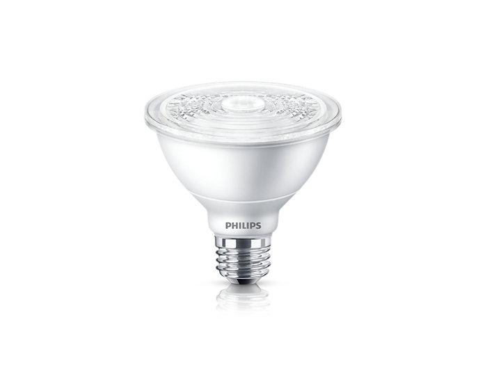 PAR30S LED Single Optic Lamps with AirFlux Technology