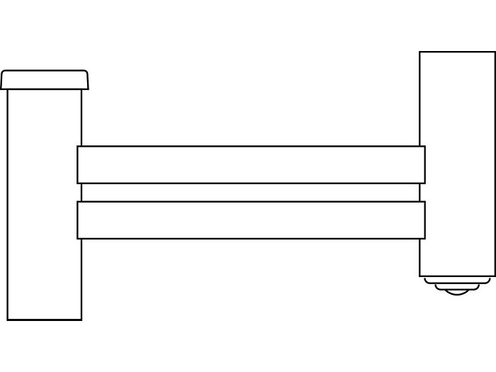 SHORT REACH BRACKETS