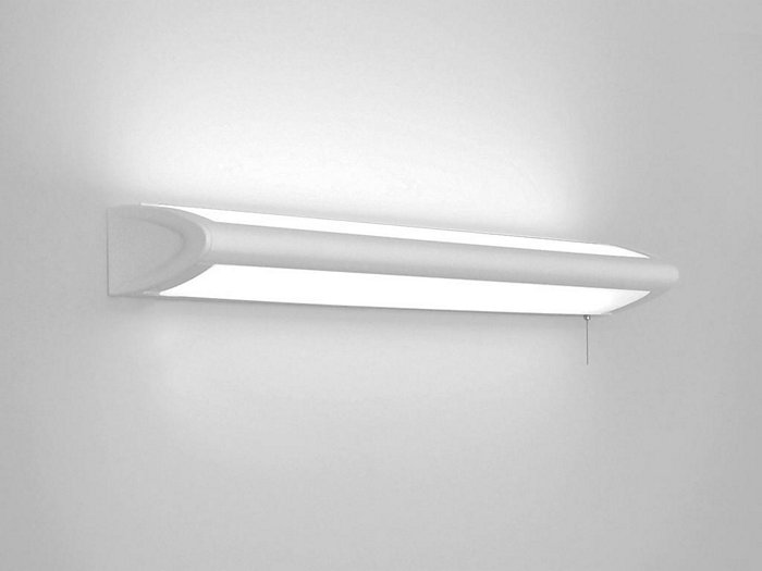 4' Horizon Wall Mount Bedlight, T8  Fluorescent, 1-lamp up/2-lamps down