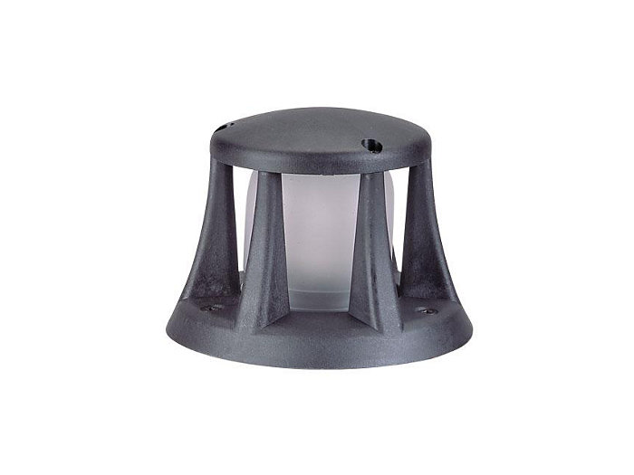 Beacon, Composite Semi Recessed, Black, 20W T3, 120V