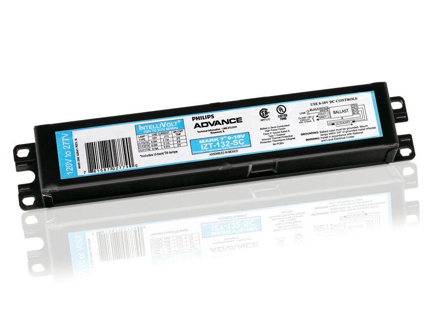 mark 7 0 10v fluorescent dimming gear philips lighting rh usa lighting philips com GE T12 Ballast Wiring Diagram Sylvania Ballast Wiring Diagram
