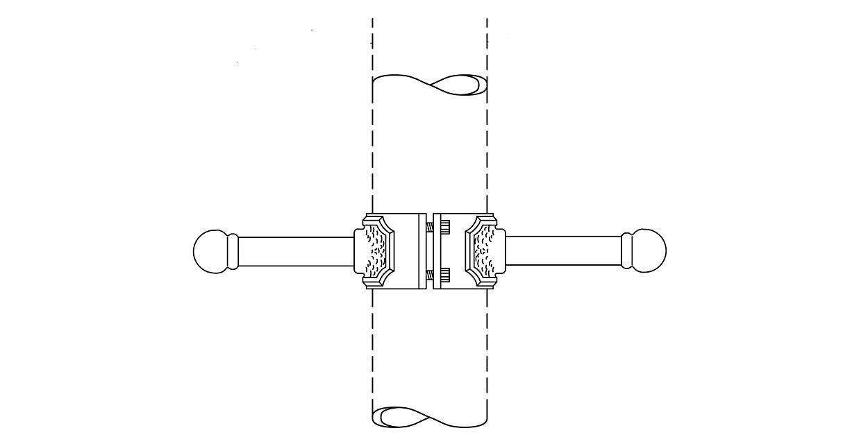 2 Piece Ladder Rest - superior durability