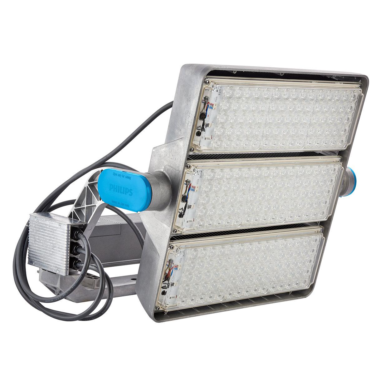 ArenaVision LED gen2 - stelt sportaccommodaties in staat een nieuwe ervaring te bieden
