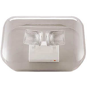 Exit/Emergency Polycarbonate Vandal Shield, See spec number CA-52050 for all polycarbonate vandal shields available.