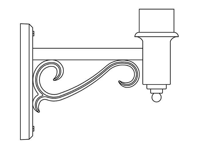 Arms, Wall Mount (PTW2285)