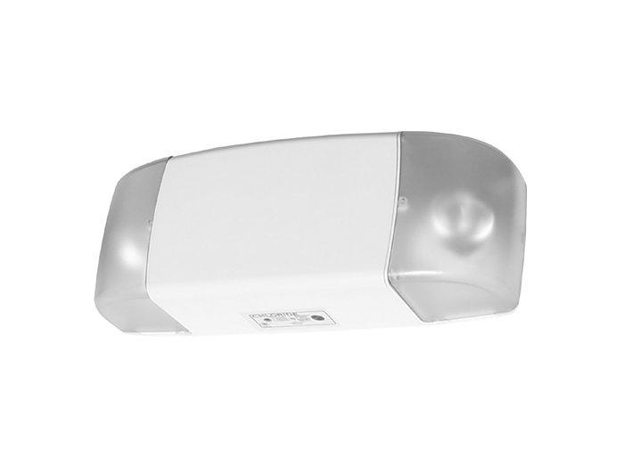 Symmetry Spec Grade Thermoplastic Emergency Unit, Lead Calcium, 6V 25W, 12W Halogen Lamp White Housing