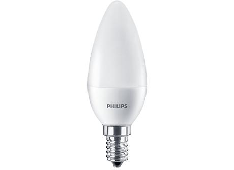 CorePro LEDcandle ND 7-60W E14 840 B38 FR