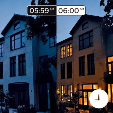 Ustaw automatyczne harmonogramy włączania i wyłączania się światła