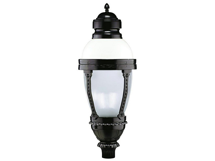 New Oxford LED Post Top (VX022), Refractive Globe, 64 LED Type V
